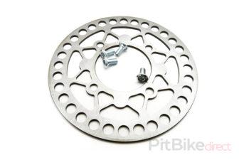 pitbike brzdový kotouč kulatý 180mm se šrouby